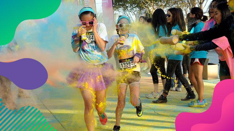 2 Miles Color Run