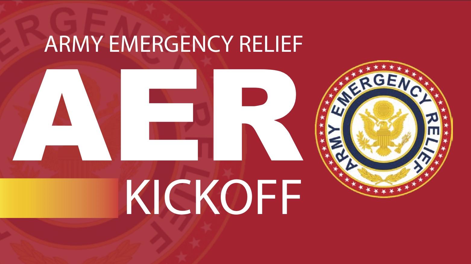Army Emergency Relief Kick Off