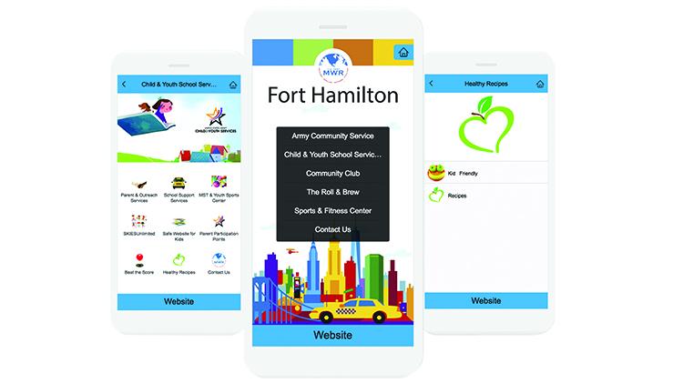 Fort Hamilton MWR App