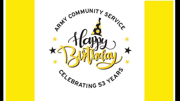Army Community Service 53rd Birthday BBQ Celebration