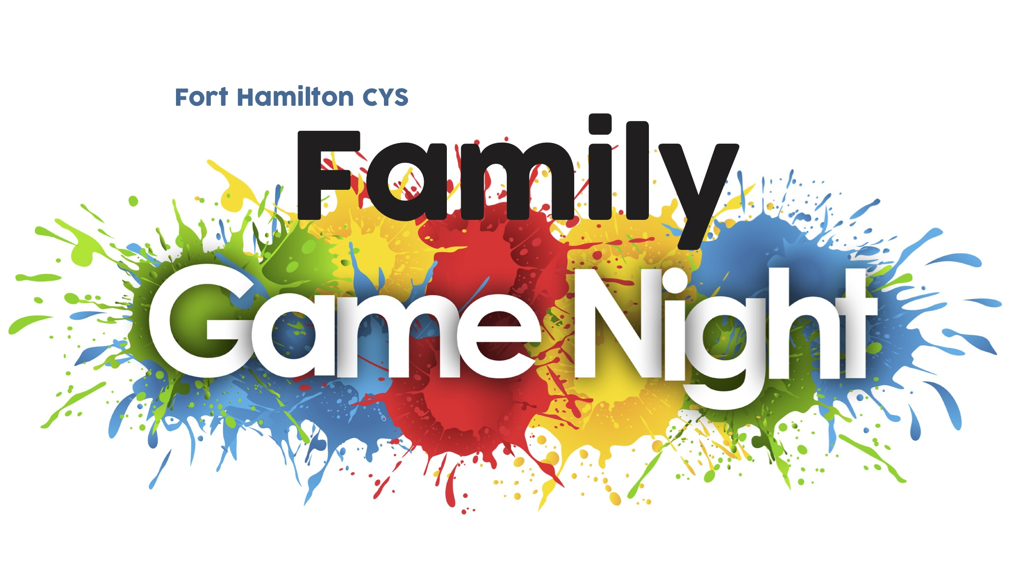 Fort Hamilton CYS Family Night