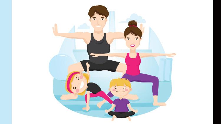 Sunday Family Gymnasium Time