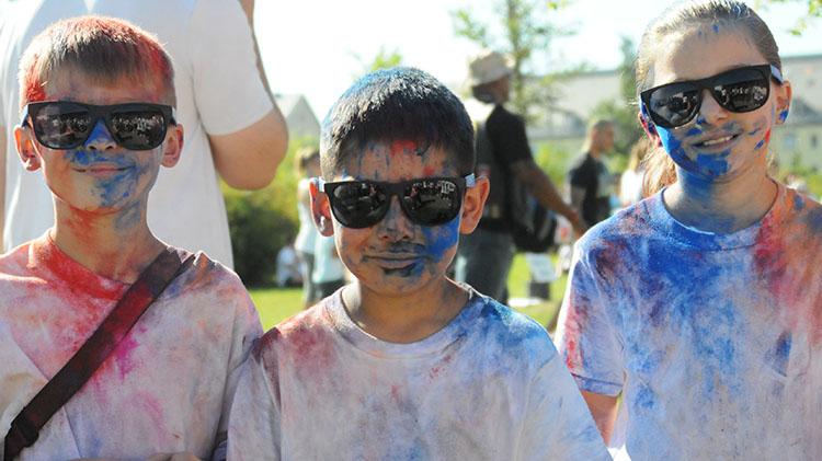 Family Color Fun Run