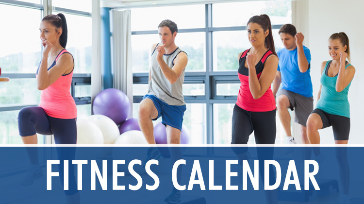 Sports & Fitness Center Calendar